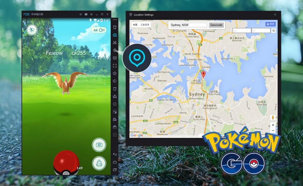 Nox App jugador Pokemon Go Versión