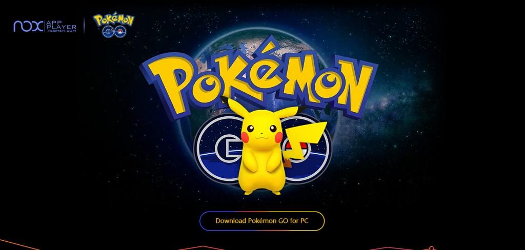 pokemon ir a la página de destino PC